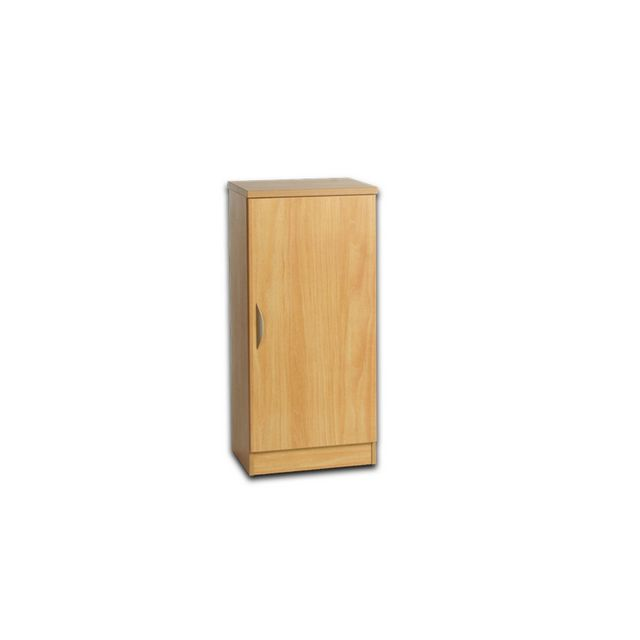 Office Regular Height Single Door Narrow Cupboard