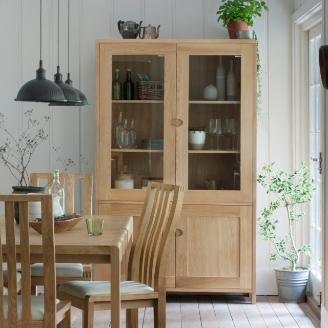 Dining Ercol Bosco Display Cabinet, Dining Room Cupboards Uk