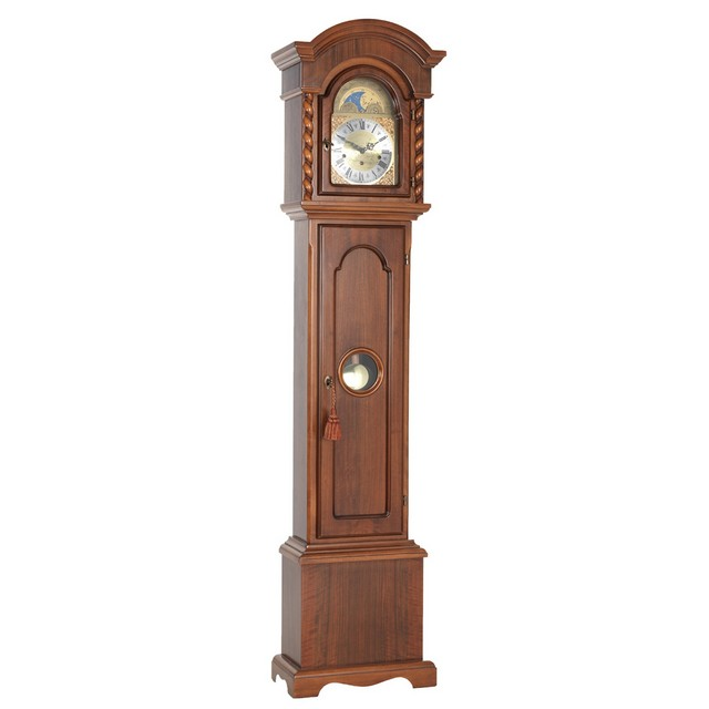 Walnut Finish Westminster Chime