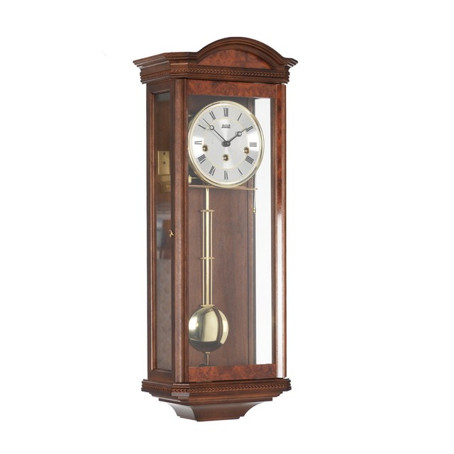 Walnut Mechanical Wall Clock