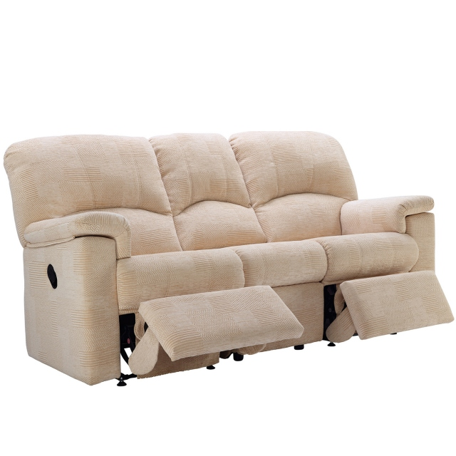 Chloe G Plan Chloe 3 Seater Double Recliner Sofa