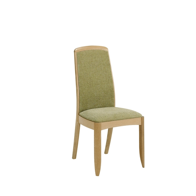 SHADES OAK Nathan Shades Oak Fully Upholstered Dining Chair