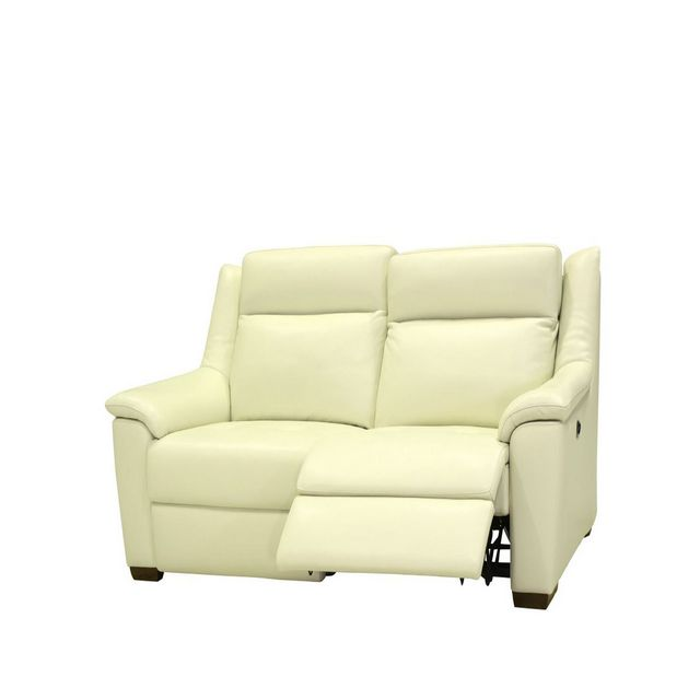 Cookes Collection Darwin 2 Seater Manual Recliner Sofa In Leather 25