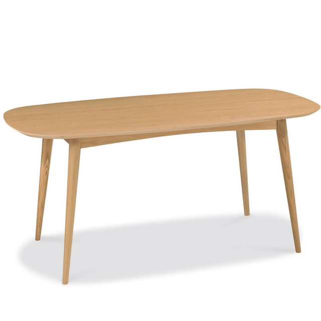 Cookes Collection Norway Oak 6 Seater Dining Table
