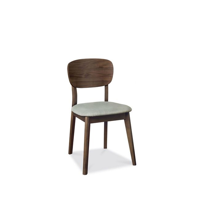Cookes Collection Norway Walnut Veneered Back Dining Chair