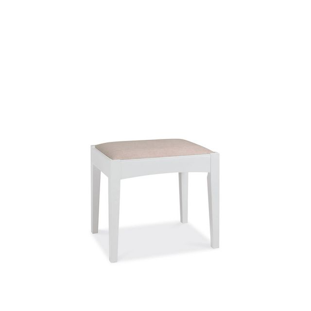 Cookes Collection Camden White Dressing Stool