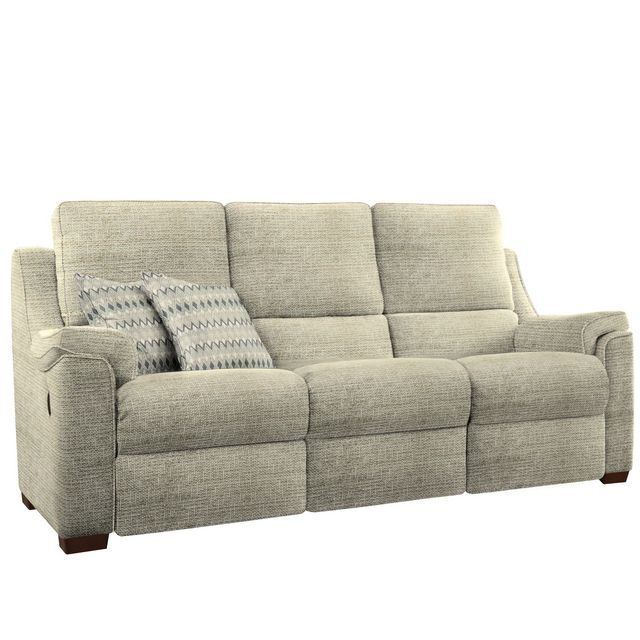Parker Knoll Albany 3 Seater Manual Recliner Sofa In Range A
