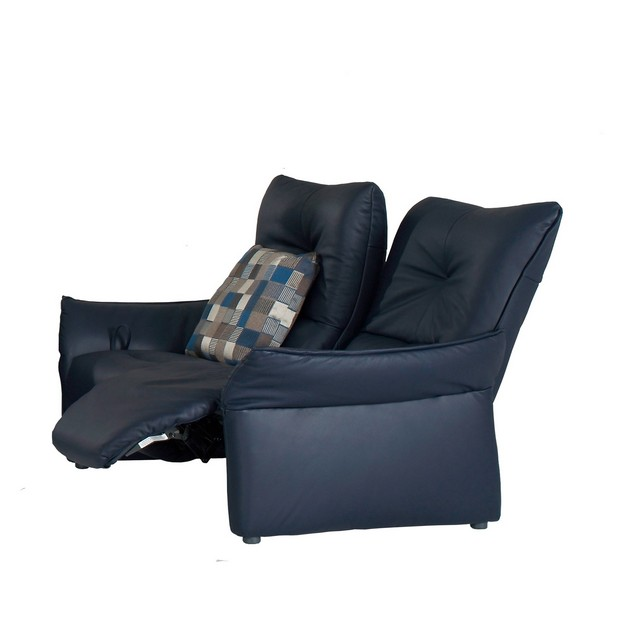 Himolla Brent 3 Seater Power Recliner Sofa In Leather 18