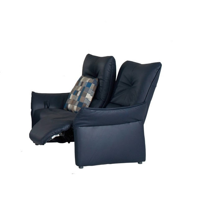 Himolla Brent 2 Seater Power Recliner Sofa In Leather 18