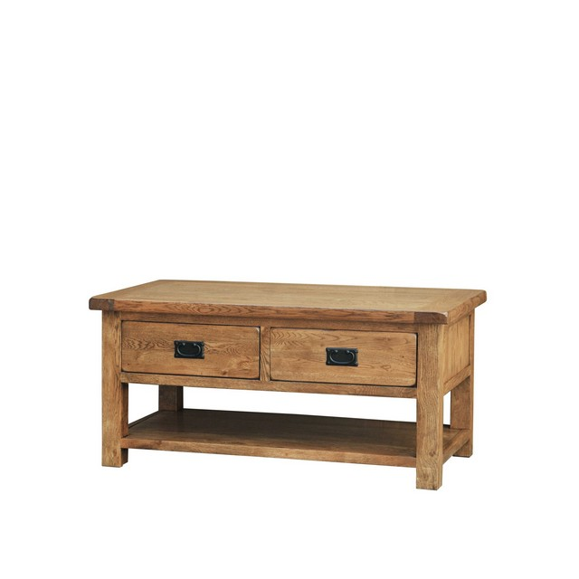 Cookes Collection Barrington Coffee Table With Drawers