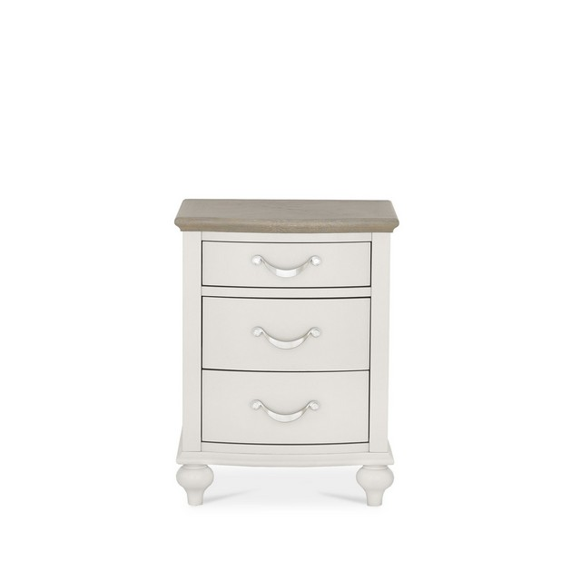 Cookes Collection Geneva 3 Drawer Nightstand