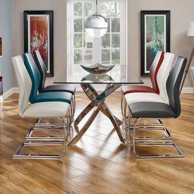 Anguilla Dining Table And 6 Chairs