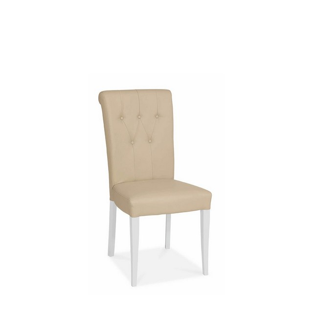 Cookes Collection Upholstered Dining Chair In Leather