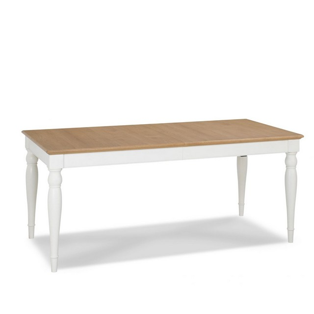 Cookes Collection Camden Two Tone Rectangular 6-8 Extending Dining Table