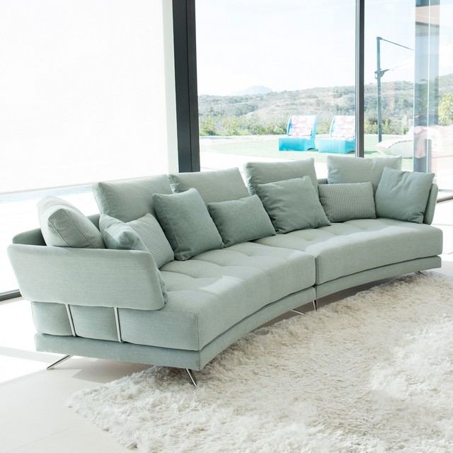 Fama Pacific Curved Modular Sofa