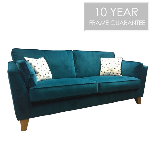 Cookes Collection Skyline 3 Seater Sofa