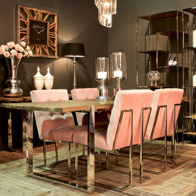 Maddox Dining Table and 4 Chairs