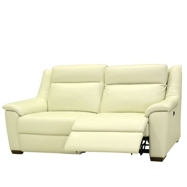 Cookes Collection Darwin 3 Seater Manual Recliner Sofa In Leather 10
