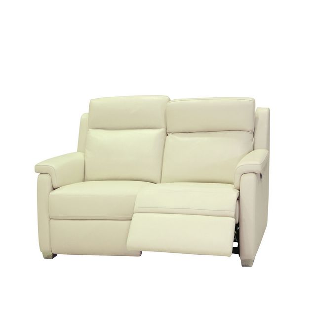 Cookes Collection Victoria 2 Seater Manual Recliner Sofa In Leather 10