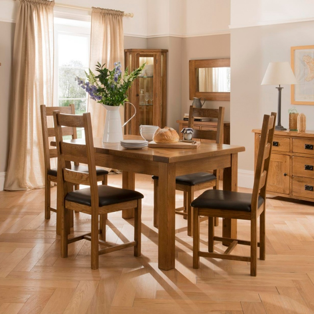 Cookes Collection Barrington Dining Table And 4 Chairs