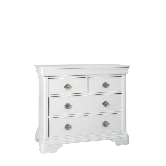 Cookes Collection Chateau Blanc 2 Over 2 Drawer Chest