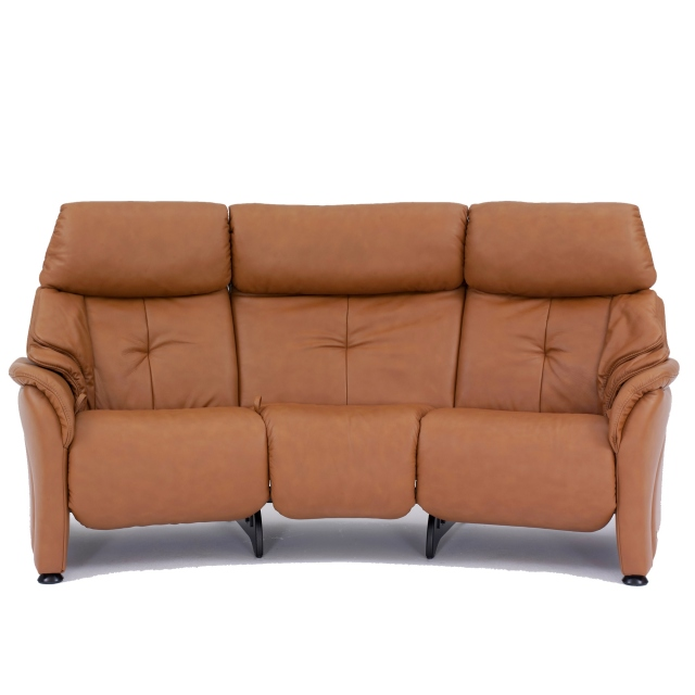 Himolla Chester Curved 3 Seater Reclining Sofa
