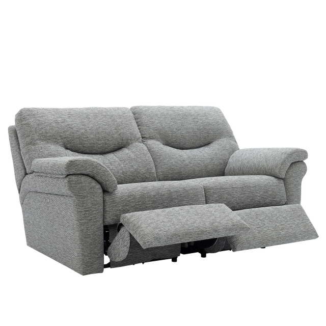 WASHINGTON - SOFT COVER G Plan Washington 3 Seater Double Power Recliner Sofa