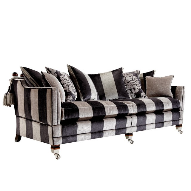 Duresta Trafalgar 3 Seater Scatter Back Sofa