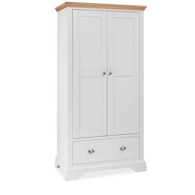 Cookes Collection Camden Two Tone Double Wardrobe
