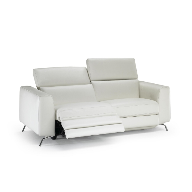 Natuzzi Editions Pensiero Electric Recliner Loveseat