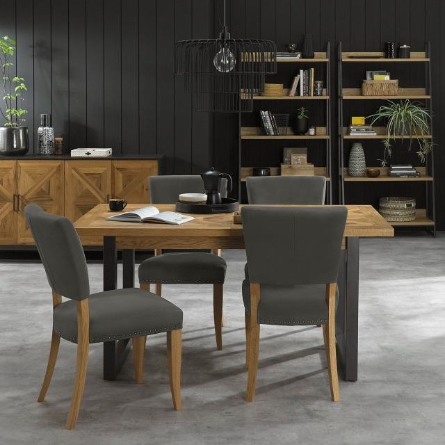 Cookes Collection Iris Dining Table and 4 Chairs 1