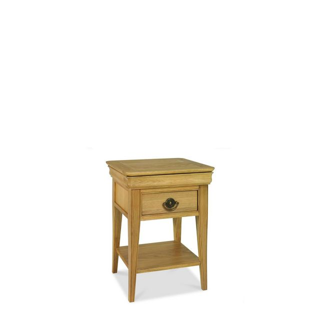 Cookes Collection Chateau Oak Lamp Table