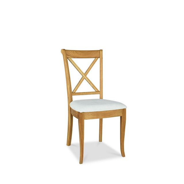 Cookes Collection Chateau Oak X Back Dining Chair