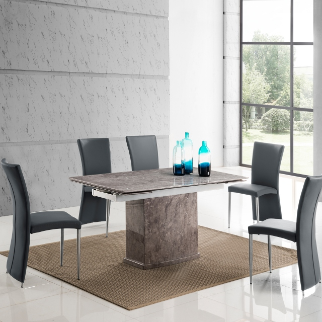 Storm Extending Dining Table and 6 Chairs