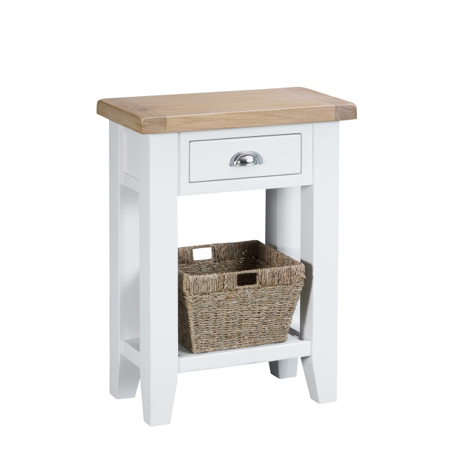 Cookes Collection Thames White Telephone Table