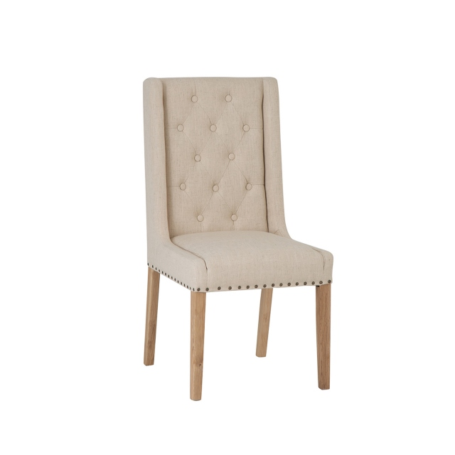 Cookes Collection Madeira Dining Chair Cream 1