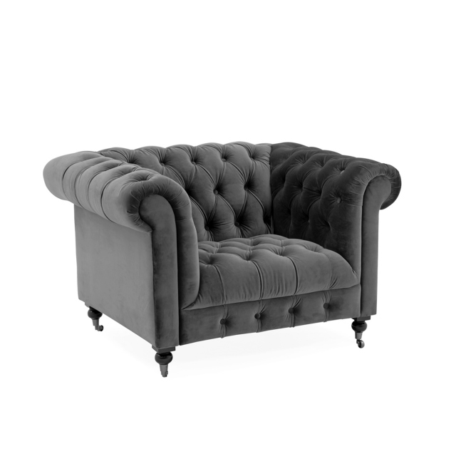 Dawson Armchair Grey 1