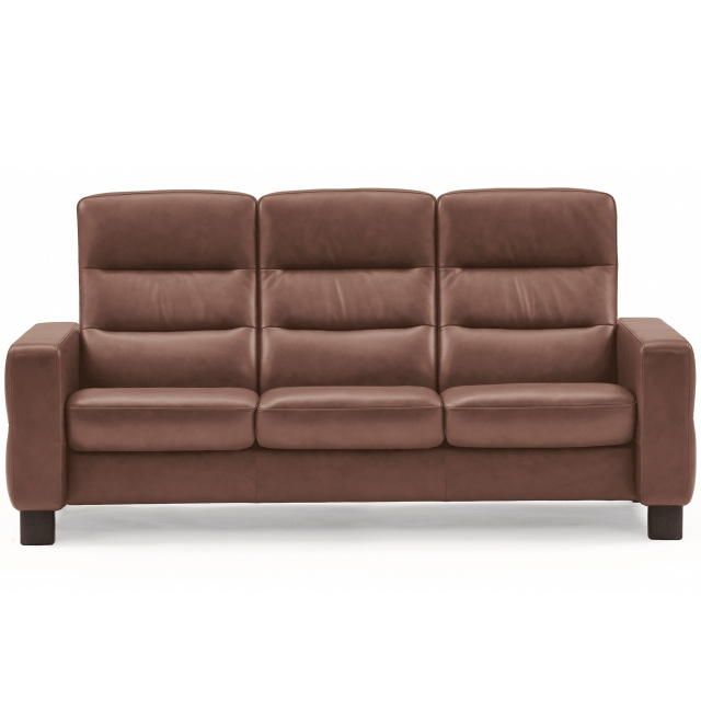 Stressless Wave High Back 3 Seater Sofa 1