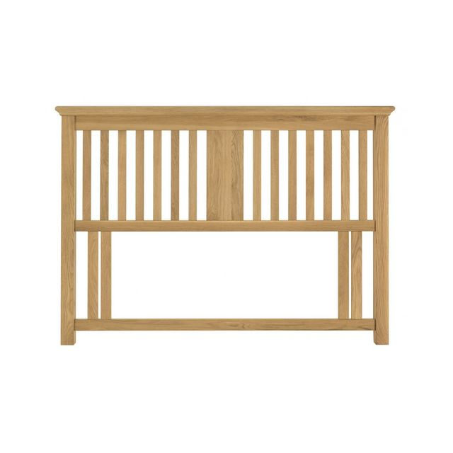 Cookes Collection Camden Oak Headboard Double