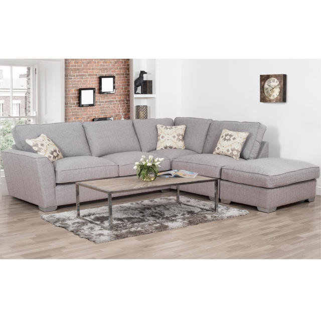 Cookes Collection Oasis Corner Sofa With Footstool - All Sofas