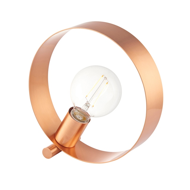 Hoop Table Lamp Copper 1