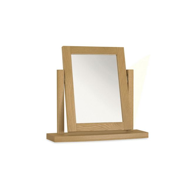 Cookes Collection Camden Oak Vanity Mirror