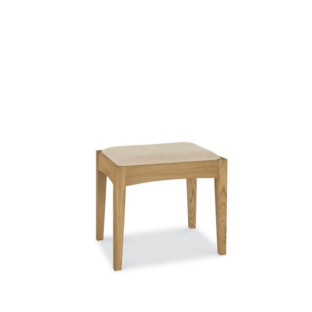 Cookes Collection Camden Oak Stool