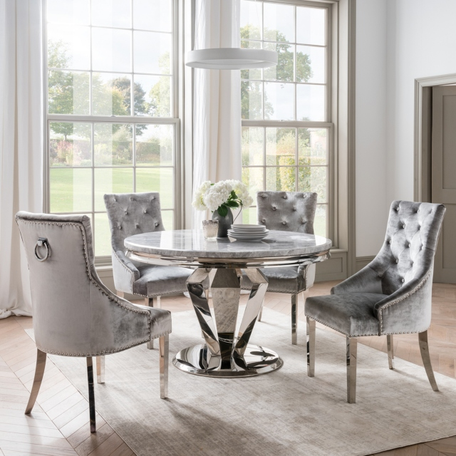Cookes Collection Abigail Dining Table & 4 Chairs 1