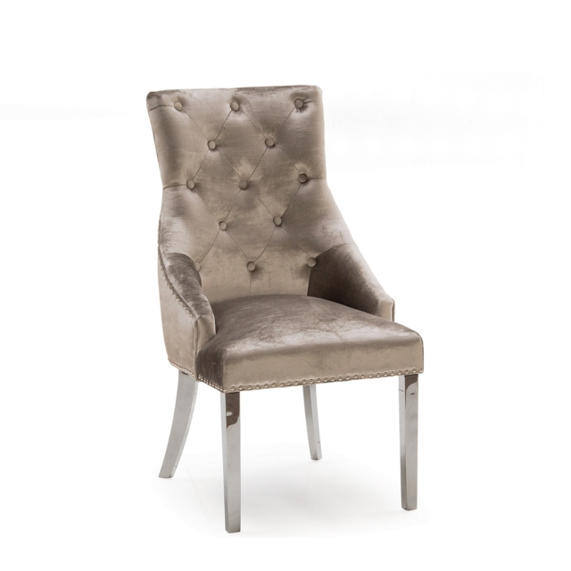 Cookes Collection Jake Dinin Chair Champagne