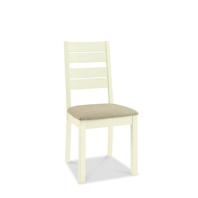 ROMANA TWO TONE DINING Cookes Collection Romana Two Tone Slatted Chair