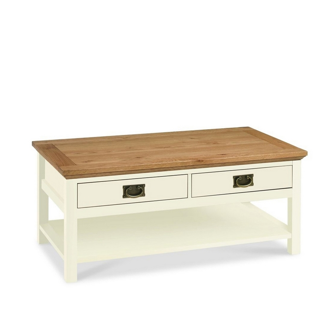 Cookes Collection Romana Two Tone Coffee Table