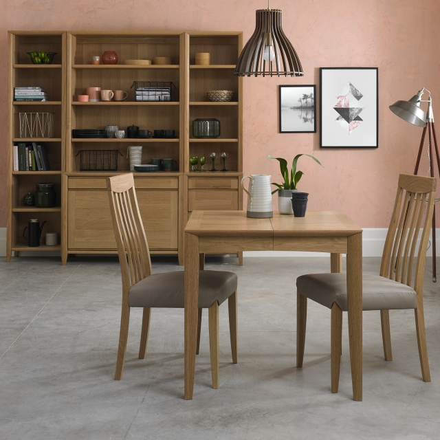Romy Oak Dining Cookes Collection Romy Small Extending Dining Table Dining Tables