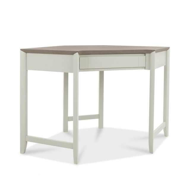 Cookes Collection Romy Soft Grey Corner Desk 1