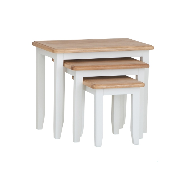 Cookes Collection Palma Nest of 3 Tables 1
